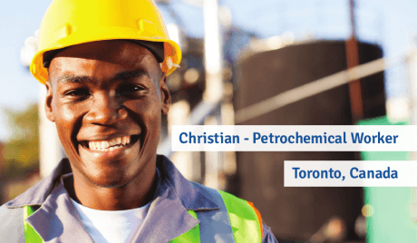 Christian - Petrochemical Worker