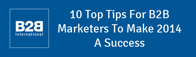 10 Top Tips for 2014