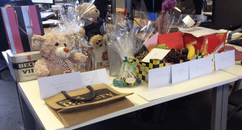 World Cup Charity Event Raffle Prizes