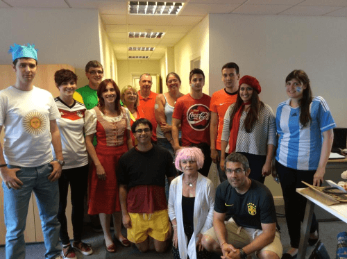 World Cup Charity Event Costume Competition