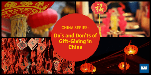 China Series: The Do's and Don'ts of Gift-Giving in China