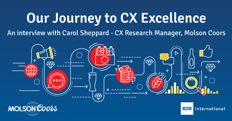 Our Journey to CX Excellence: an Interview with… Carol Sheppard, Molson Coors