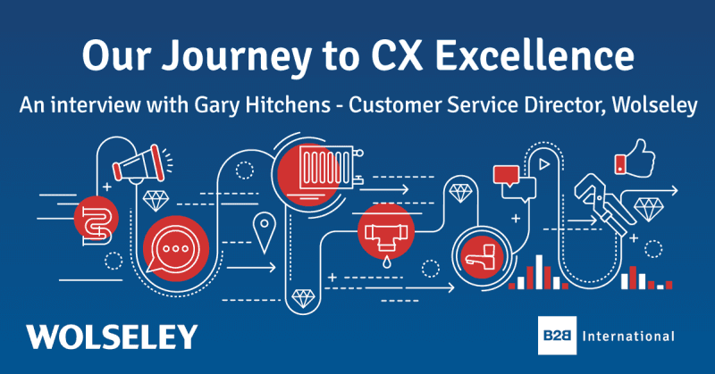 Our Journey to CX Excellence: an Interview with… Gary Hitchens, Wolseley