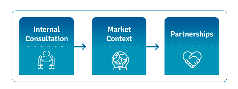 strategy consulting and market research: internal consultation