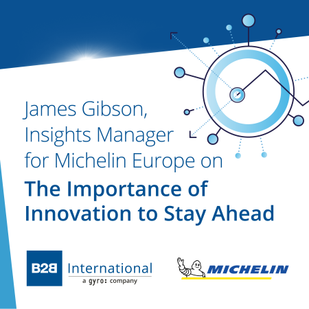 Insights Inside #1: The Importance of Innovation to Stay Ahead w/ James Gibson (Michelin)