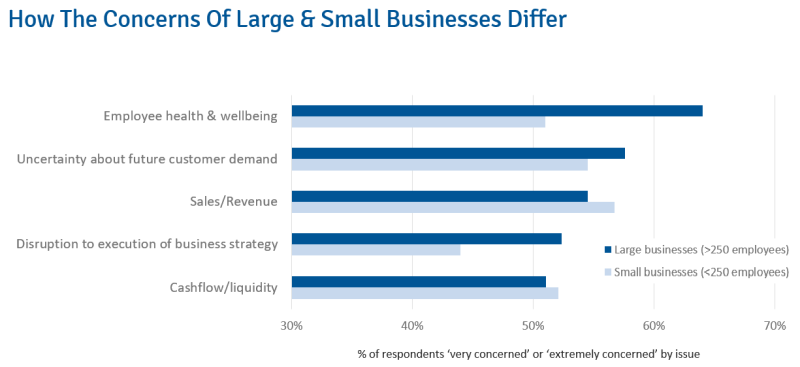 COVID-19: How The Concerns Of Large & Small Businesses Differ