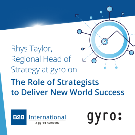 Insights Inside #4: The Role of Strategists to Deliver New World Success w/ Rhys Taylor (gyro)