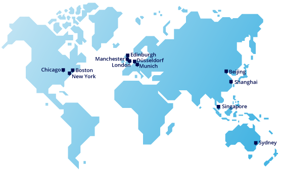 b2b international global offices