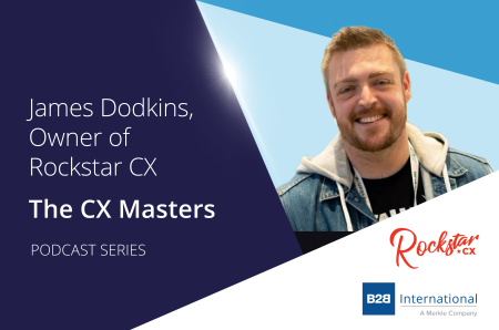 CX Masters Podcast Series #4: James Dodkins, Rockstar CX
