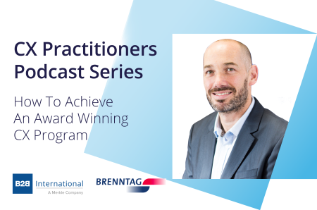 CX Practitioners Podcast Series #1: Shaun Myers, Brenntag