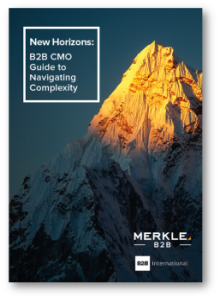 International Market Research Day - New Horizons: B2B CMO Guide to Navigating Complexity